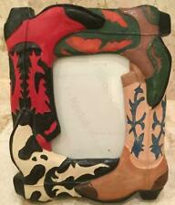 Cowboy Boot Picture Frame 3x5