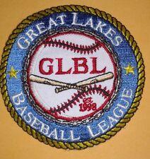 Great Lakes Baseball League Uniform Patxh GLBL Est 1998