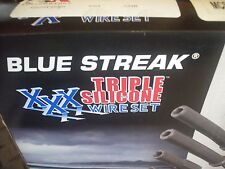 MC-SPW10 BLUE STREAK XXX TRIPLE SILICONE SPARK PLUG WIRES TWIN CAM TOURING 99-08