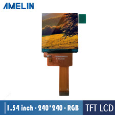small square 1.54 Inch TFT lcd screen watch lcd 240*240 resolution RGB interface