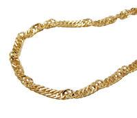 375 ECHT GOLD *** Singapur Armband Armkette 2 mm / 19  cm