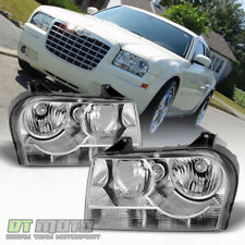 2005-2010 Chrysler 300 Halogen Headlights Headlamps Replacement 05-10 Left+Right
