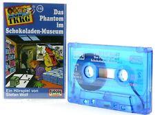 TKKG 110  Das Phantom im Schokoladen Museum Hörspiel  MC blau Kassette Europa -