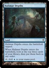 1x HALIMAR DEPTHS - Land - Zendikar - MTG - Magic the Gathering - NM