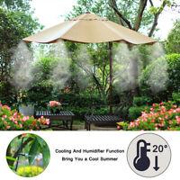 Outdoor Patio System Fan Cooler Sprinkler Spray Garden Watering Hose Nozzle *