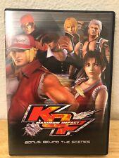 King of Fighters KOF Maximum Impact Bonus ONLY: Behind the Scenes DVD!