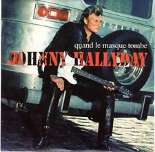 Johnny HALLYDAY CD promo 1 titre  - Quand le masque tombe
