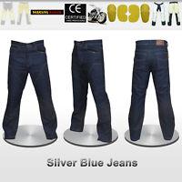 Men Motorbike Jeans Pants Reinforced with DuPont™ Kevlar® fiber