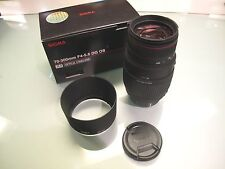 SIGMA 70 -300MM F 4-5.6 DG OS SLD BUILT IN MOTOR DRIVE NIKON MOUNT