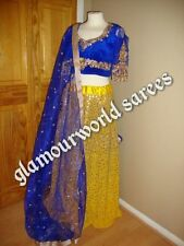 INDIAN BOLLYWOOD BRIDAL LENGHA DRESS/PARTY/WEDDING Ready To Post !!
