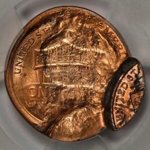 2016 PCGS MS63RD Triple Struck OC Struck Thru Broadstruck Shield Cent Mint Error
