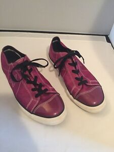 Purple Youth Converse Size 6