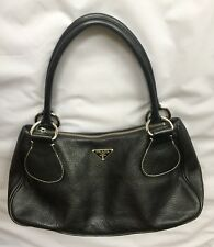 AUTHENTIC Prada Hobo Black BR0830 DAINO BOX Nero Handbag.