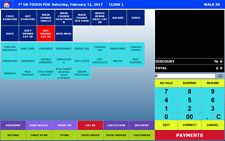 T3 TOUCH EPOS SOFTWARE For-RESTAURANT,TAKEAWAY-CAFE-VAT invoice supplied
