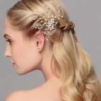 Luxury Wedding Party Bridal Bridesmaids Pearl Rhinestone Hair pins Accessory