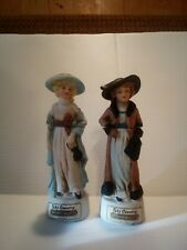 New listing Ski Country 1973 Set of 2 Ladies of Leadville Mini Decanters
