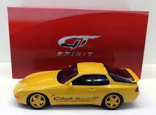 Véhicules miniatures jaunes GTspirit en résine