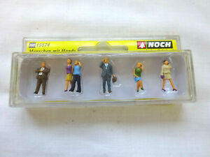 NOCH OO / HO GAUGE FIGURES WITH MOBILE PHONES 15574  [MINT AND BOXED]