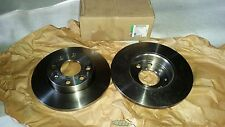 Original GM Bremsscheibensatz Bremsscheibe VORNE FRONT Brake disc kit Kadett E