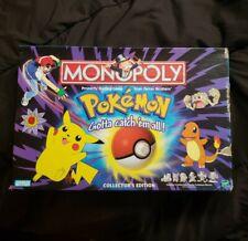 Hasbro Pokémon Collector's Edition Monopoly Board Game - 41357