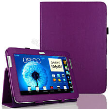 Purple Stand Leather Case Cover For Samsung Galaxy Note 10.1 N8000 N8010 Tablet