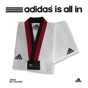 Adidas Taekwondo PoomDobok,Uniform/Champion Dobok/KARATEDO Uniform/Free shipping