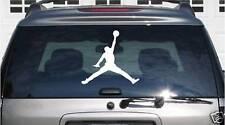 "Jordan Jumpman Window Decal 12""x11"" Sticker Vinyl Car"