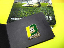 CLUBE DOS 13 Brasil Football Collector PIN with Pamplet