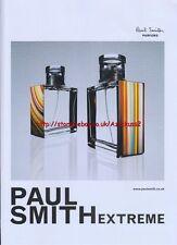 Paul Smith Extreme Fragrance 2008 Magazine Advert #70