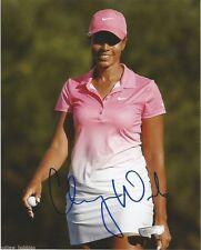 LPGA Cheyenne Woods Autographed Signed 8x10 Golf Photo COA M
