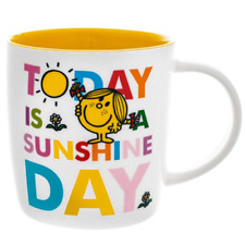 LITTLE MISS SUNSHINE MUG TODAY IS A SUNSHINE DAY 350ML BOXED