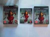Dragon age origins collector's edition ps3 complet  playstation 3 ps 3