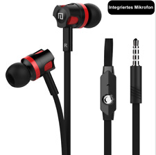 In-Ear Kopfhörer mit Mikrofon Ohrstöpsel Headset Huawei Samsung HTC Bass Klang