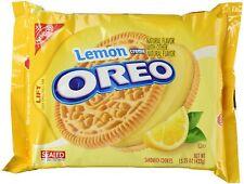 NEW Nabisco Oreo Lemon Flavor Creme Cookies