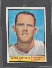 1961 Topps Baseball #332 Dutch Dotterer EX-MT *5580