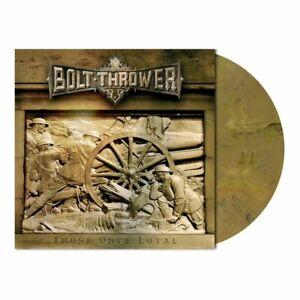 "Bolt Thrower ""Those Once Loyal"" Gatefold oakwood brown marbled vinyl LP + Poster"