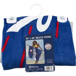 "LA Los Angeles Dodgers 30"" x 60"" Beach Bath Pool Towel MLB Blue"