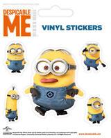 Despicable Me Rendered Minions Stickerset Sticker Aufkleber 10x12,5 cm