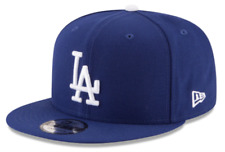 Los Angeles Dodgers New Era Royal Blue Team Color Basic 9Fifty Snapback