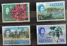 Grenada 1967, ASSOCIATED STATEHOOD, 4 values, used