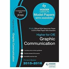 Higher Graphic Communication 2015/16 SQA Model Papers with Answers