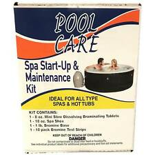Pool Care 14888 Spa Hot Tub Chemical Start Up Home Maintenance Kit with Bromine