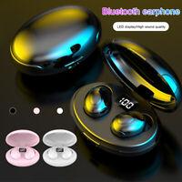 Bluetooth 5.0 Headset TWS Wireless Earphones Earbuds Headphones Stereo Ear Hook