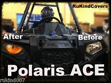 POLARIS ACE  SCRAMBLER YELLOW EYES RukindCovers HeadLight Cover's TOP SELLER