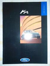 Ford Ka range brochure 1998 Ed 1