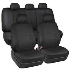 Leatherette Auto Seat Covers Car Double Stitched 40/60 50/50 Split Bench Option