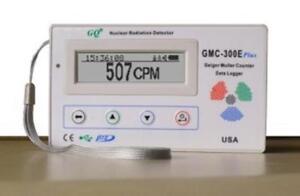 QG GQ GMC-300E-Plus Digital Geiger Counter Nulcear Radiation Detector Monitor