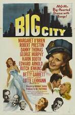 BIG CITY Movie POSTER 27x40 Margaret O'Brien Robert Preston Danny Thomas George