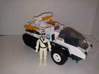 1985 GI Joe ARAH Snow Cat w/Frostbite Hasbro Vintage Toy MISSING PARTS