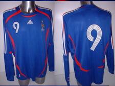 France Adidas Adult XL World Cup L/S 2006 Football Soccer Shirt Jersey Vintage